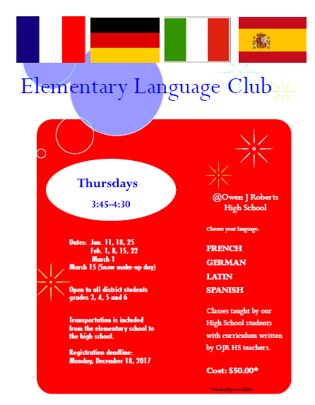 Elementary Language Club