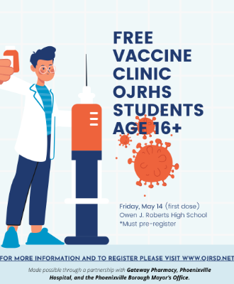 vaccine clinic May 14
