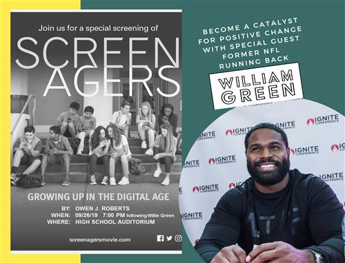Screenagers and Willie Green
