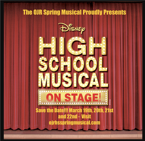 Spring Musical Save the Date