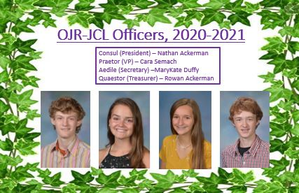 OJR-JCL Officers, 2020-2021