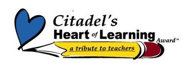 Citadel Heart of Learning Logo